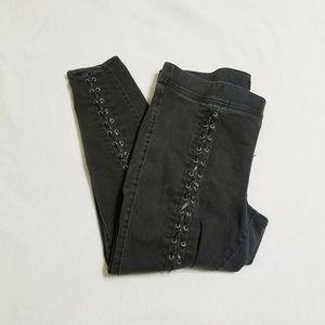Torrid black jeans, size 2R